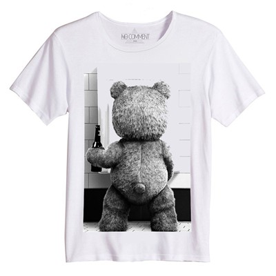 NO COMMENT PARIS T-shirt - blanc