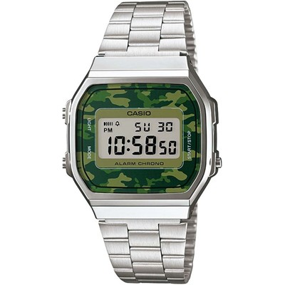 CASIO Collection Retro - Style casual - argent