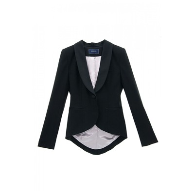 Veste de smoking queue de pie - noir