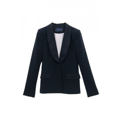 Veste de smoking - bleu