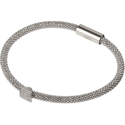 Star Dust Carré - Bracelet - Argent