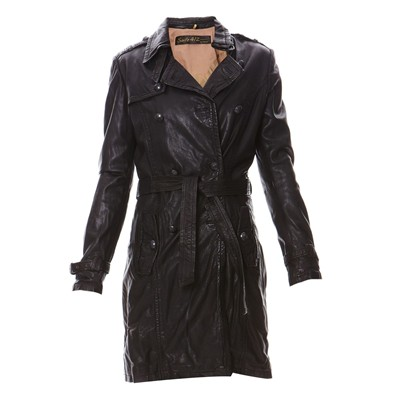 OAKWOOD Blog - Trench - noir