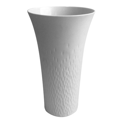 GUY DEGRENNE Boreal satin - Vase - blanc