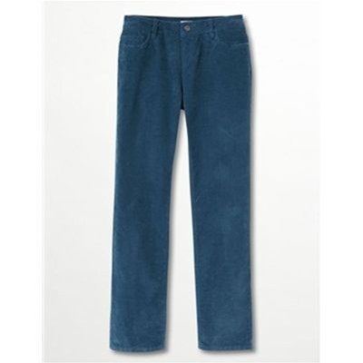 Somewhere Covert - Pantalon droit - bleu