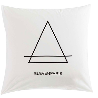 ELEVEN PARIS WILL SCREAM - Housse de couette - blanc