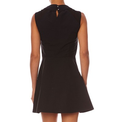 DRESS GALLERY Robe patineuse - noir