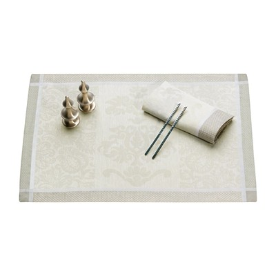 LE JACQUARD FRANÇAIS Siena - Set de table - blanc
