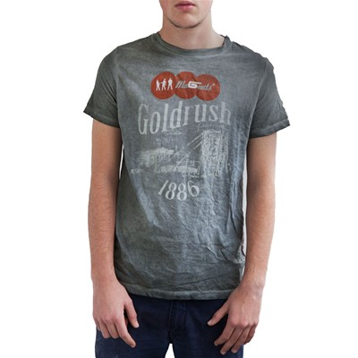 Magents Goldrush - T-shirt manches courtes - gris