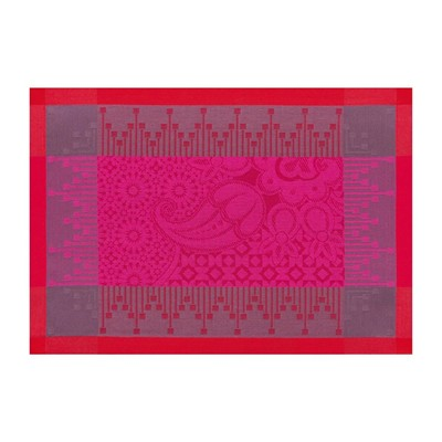 LE JACQUARD FRANÇAIS Palais Persan - Set de table - rose