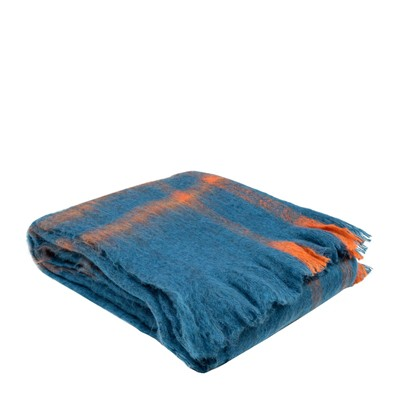 MADURA Norway Bleu Orange - Plaids - Bleu-Orange