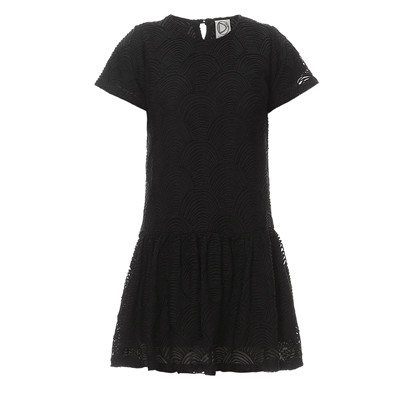 Dress Gallery Noir Courte Gallery Robe Dress F7fwqCx6