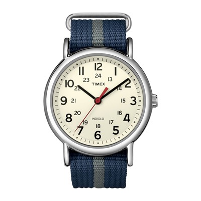 The Weekender - Montre - Bleu/Gris