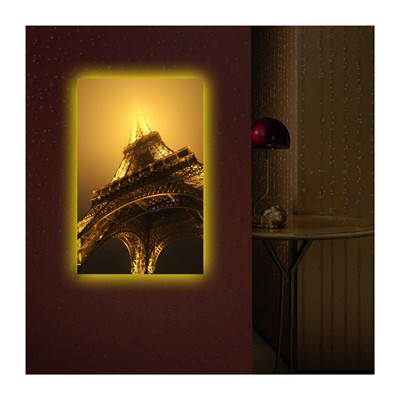 DECO WALL Tableau mural LED - multicolore