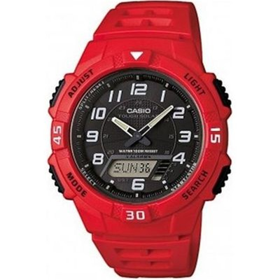 Casio Collection - Montre digitale - rouge