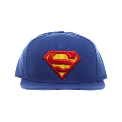COTTON DIVISION Superman - Casquette - cobalt