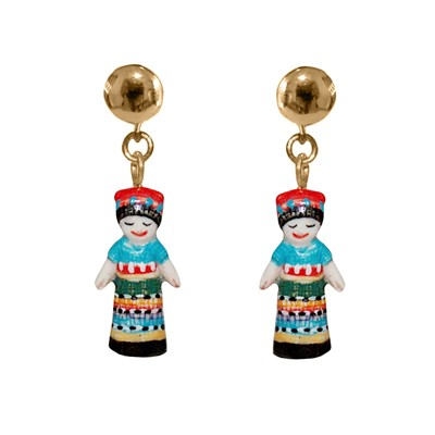 NACH Worry Doll - Boucles d'oreilles - multicolore