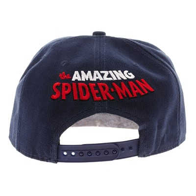COTTON DIVISION Spiderman - Casquette - bleu marine