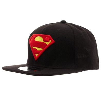 COTTON DIVISION Superman - Casquette - noir