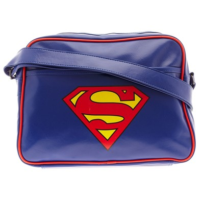 COTTON DIVISION Superman - Sacoche - cobalt