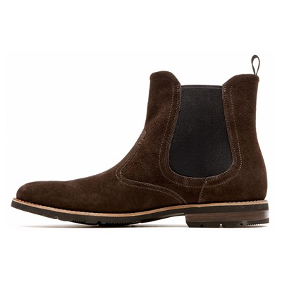 ROCKPORT Boots - en cuir marron
