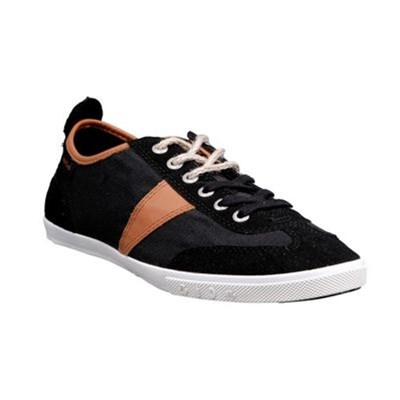 Tennis/Baskets/Sneakers Peopleswalk GRANT 0412M Noir Textile Gomme - noir