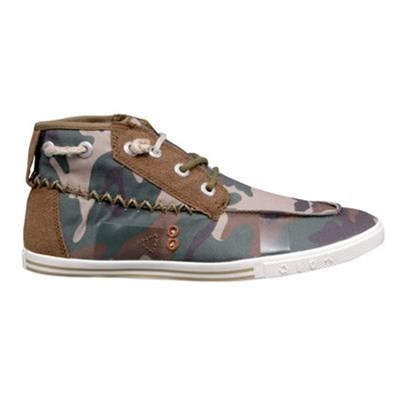 Tennis/Baskets/Sneakers Peopleswalk GENNAKER 0052M Camouflage Textile Gomme / Camouflage - army