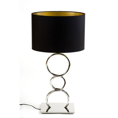 Thomas de lussac lampe design round and round - argent