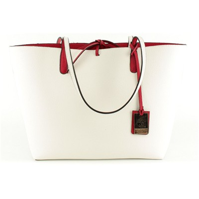 Beverly Hills Polo Club Bolso de shopping con bolsito a juego - blanco