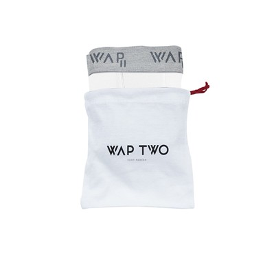 WAP TWO Bbuni - Body - Boxer - blanc