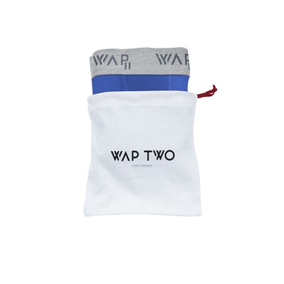 WAP TWO Bbuni - Body - Boxer - bleu