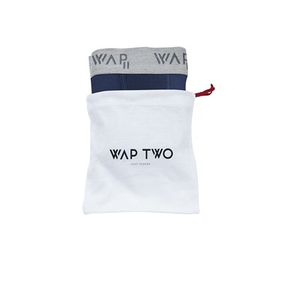 WAP TWO Bbuni - Body - Boxer - bleu marine