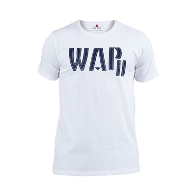 WAP TWO Feutre - T-shirt - blanc