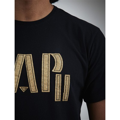 WAP TWO Feutre - T-shirt - noir