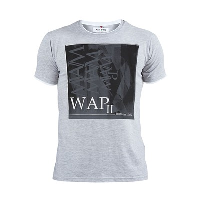 Square - T-shirt - gris chine