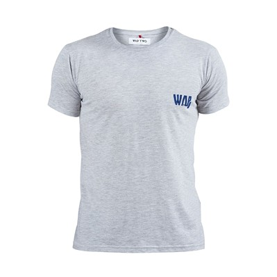 WAP TWO Wappy - T-shirt - gris chine