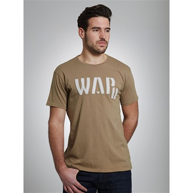 WAP TWO Fontre - T-shirt - sable