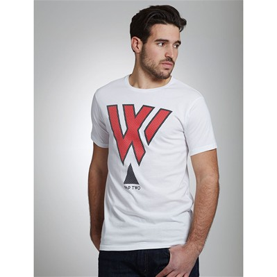 WAP TWO Ball - T-shirt - blanc