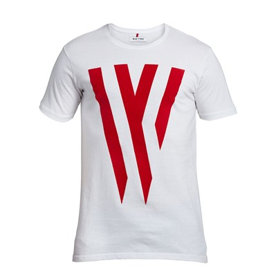 WAP TWO W - T-shirt - blanc