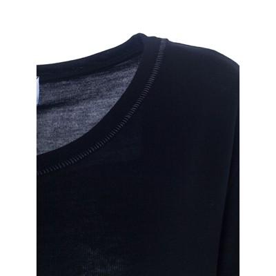 OVER MORGAN - T-shirt - noir