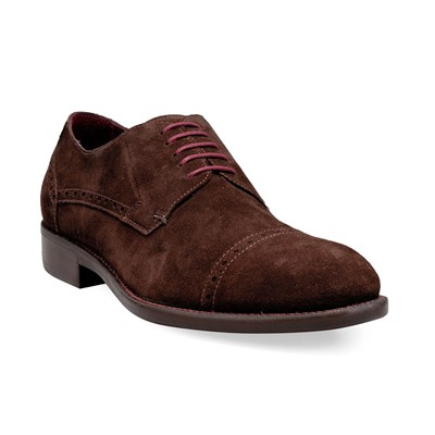 Design 12379 lorenzo 1/2 cuoio - derbies - marron