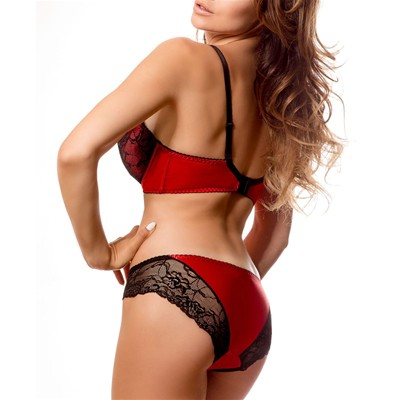 PARI PARI Catherine - Soutien-gorge push-up - rouge