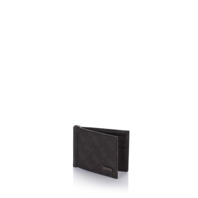 Myself Money - Portefeuille en cuir - noir