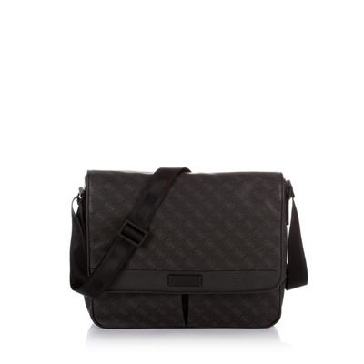GUESS Myself Messenger - Besace - noir