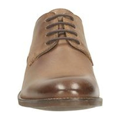 CLARKS Exton Walk - Derbies - tabac