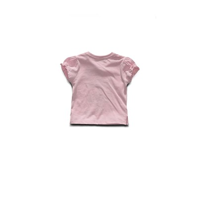 GUESS KIDS He loves me - T-shirt manches courtes - rose