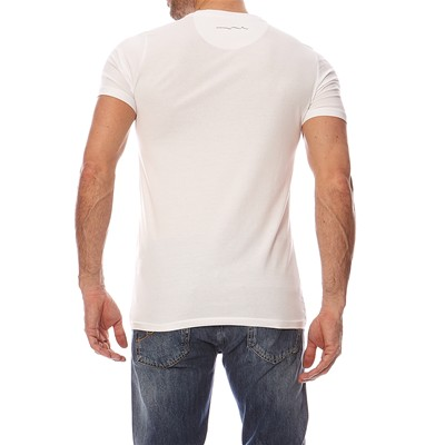 TEDDY SMITH Tawax - T-shirt manches courtes - blanc