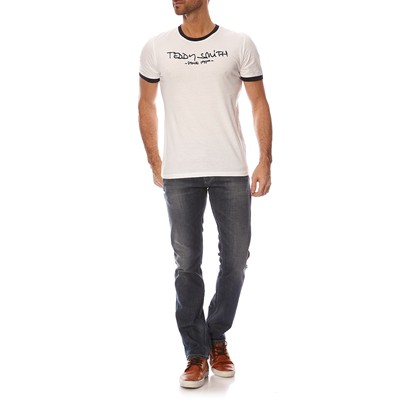 TEDDY SMITH Ticlass - T-shirt - blanc