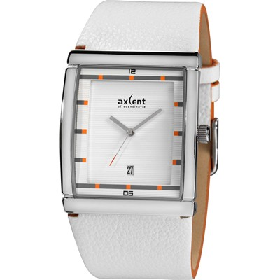 AXCENT Wall Street - Montre analogique - blanc