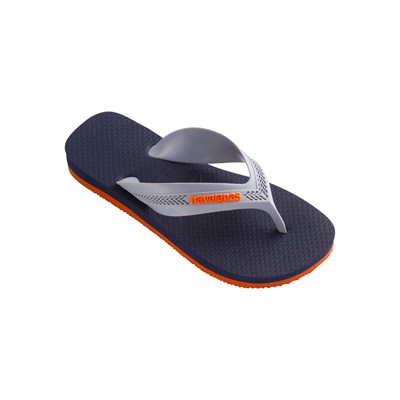 Kids Max - Tongs - orange/bleu marine