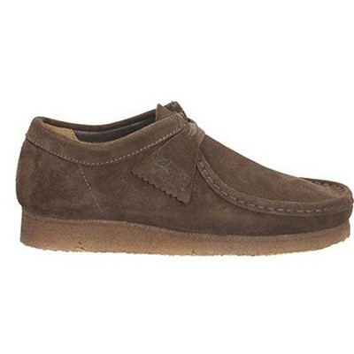 Clarks Wallabee - mocassins - marron